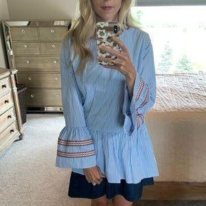 Chicwish seersucker blouse